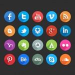 Colección de iconos para redes sociales