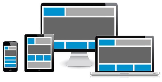 responsive design grafico