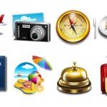 Iconos de vacaciones gratuitos