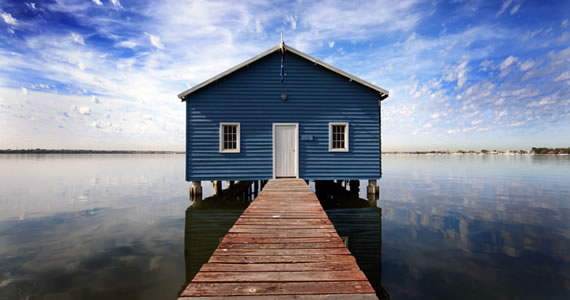 Casa sobre el agua