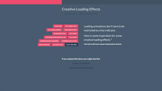 Efectos de carga con CSS