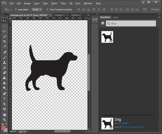 BlendMe: Iconos en Photoshop sin salir de la aplicación
