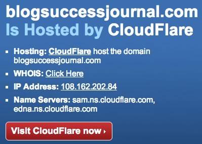 cloudflare cambia la IP de nuestro sitio