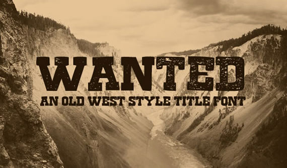 Wanted Font