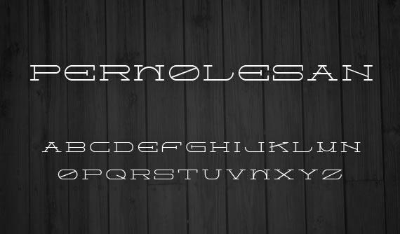 Perwolesan Font