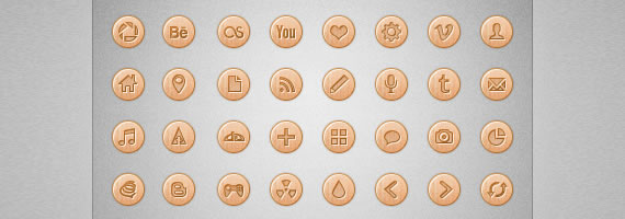 Wooden Icons