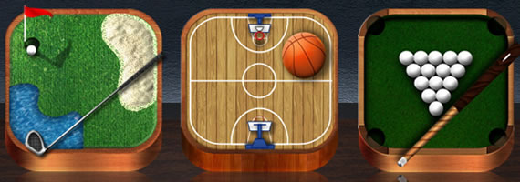 Wooden Icons Sports