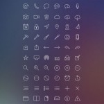 Completo set de iconos estilo iOS: Inspired Line