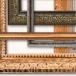 Imágenes transparentes de marcos antiguos