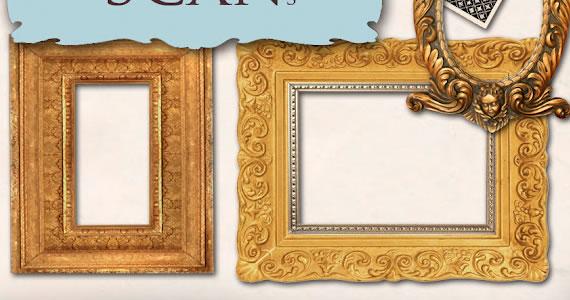 Imágenes con marcos en alta resolucion