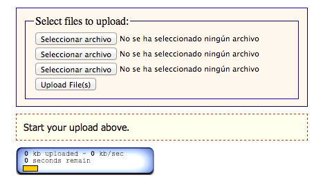 upload php con jQuery