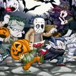 Personajes para Halloween vectorizados