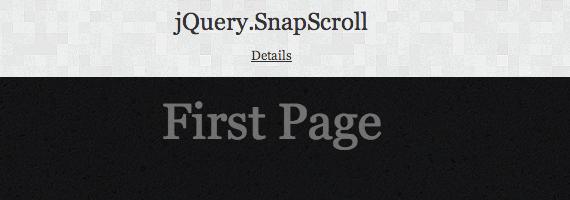 control de scroll con jQuery