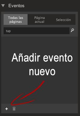eventos de Google Web Designer