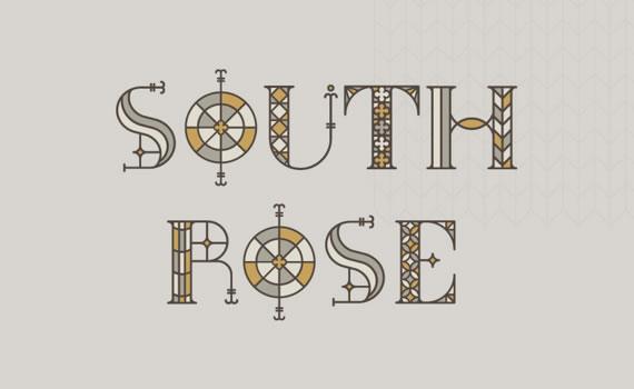 South Rose - Font