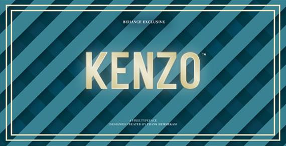 Kenzo - Font
