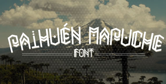 Paihuen Mapuche - Font