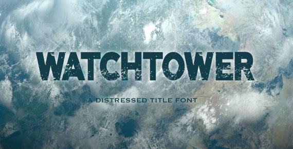 Watchtower - Font