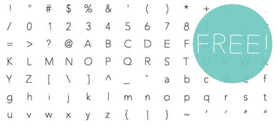 Unskinny Bop - Font
