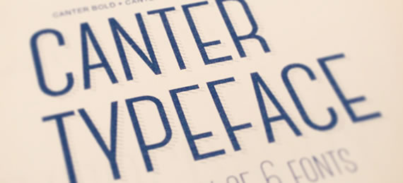 Canter Free - Font