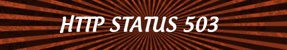 status HTTP 503
