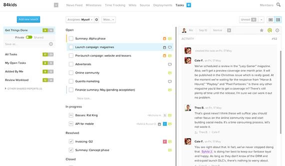 Bambam: Avanzado gestor de tareas colaborativo