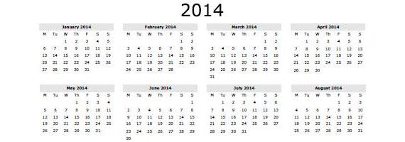 Calendario con foto 2013 para imprimir gratis 41