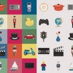 Mas de 100 iconos de temáticas múltiples en PNG y AI