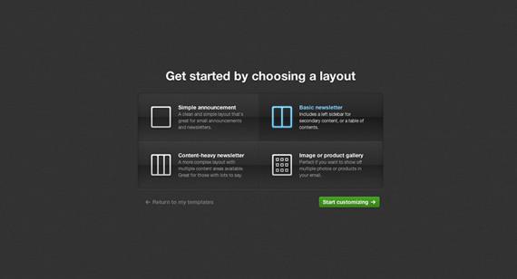Generador online de newsletters para mail