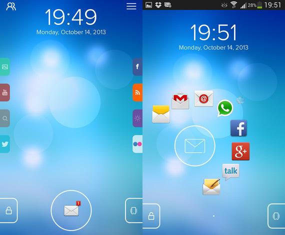 Start: Pantalla de bloqueo para Android