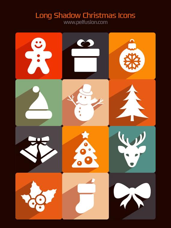 Iconos Navideños en PNG