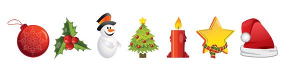Iconos de Navidad gratuitos