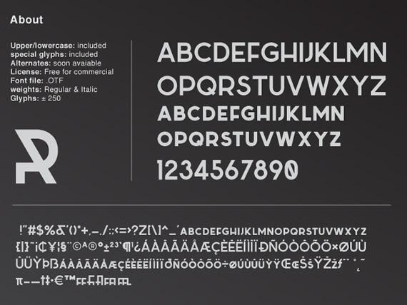 Sabado - Tipografía