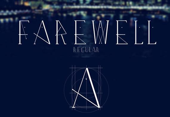 Farewell Regular - Tipografía