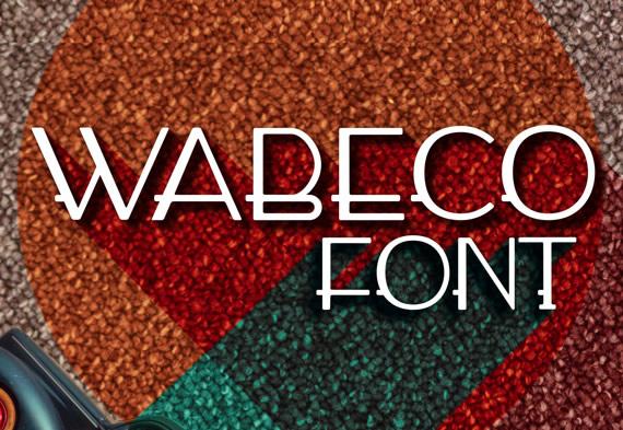 Wabeco - Tipografía