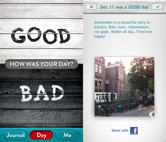 Good Day Bad Day App