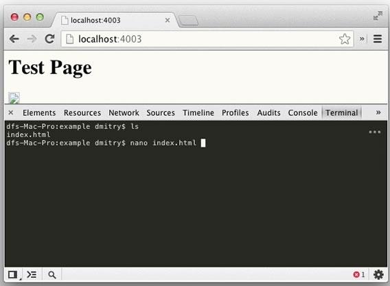 instalar una terminal en Google Chrome