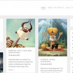 Theme minimalista para WordPress: Pieces