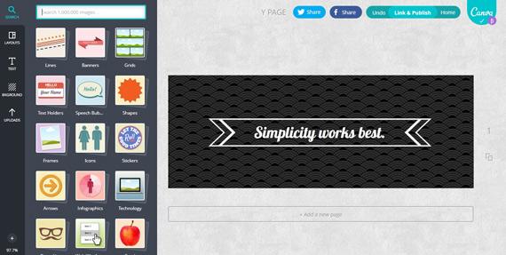 Canva: Composiciones gráficas online