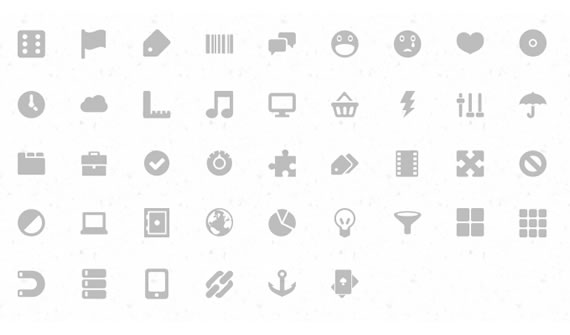 Gmarellile Flat Icons