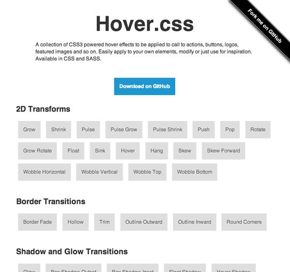 efectos hover css3