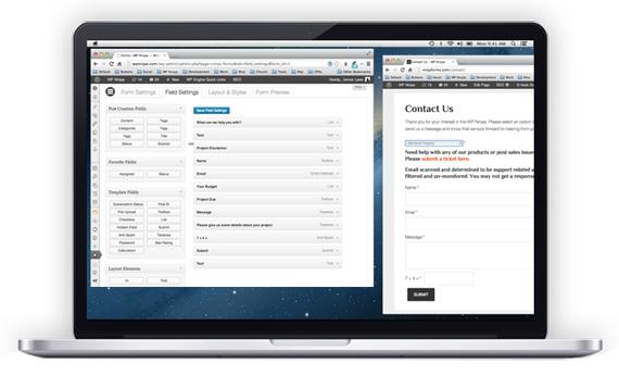 Formularios fácil en WordPress con Ninja Forms