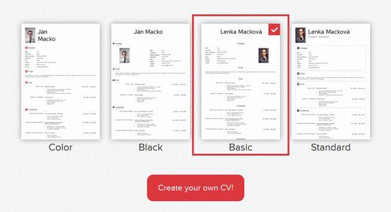 Crear un currículum online con Kick Resume