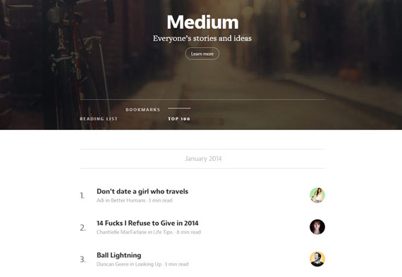 Medium: Ideas e historias desde el mundo entero