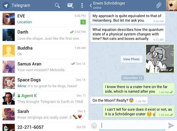Telegram: Nuevo competidor de Whatsapp