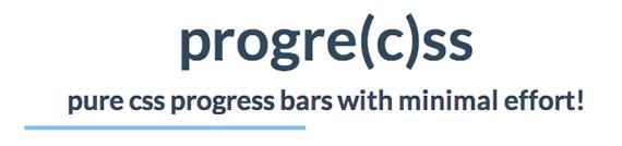 barra de progreso CSS