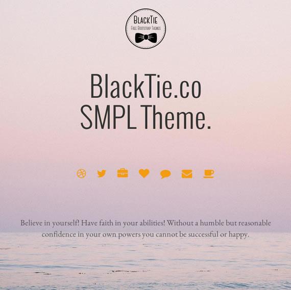 Blacktie Theme