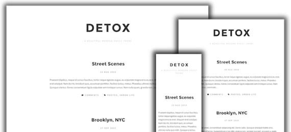 Detox - Ghost Template