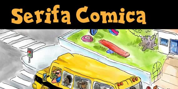 Serifa Comica