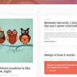 Plantilla con línea de tiempo para WordPress